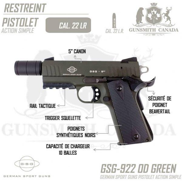 GSG-922-OD-GREEN-FR