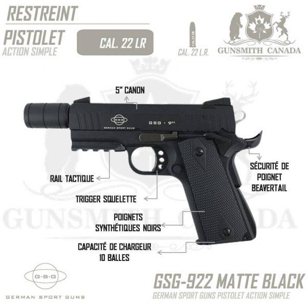 GSG-922-STD-BLACK-FR