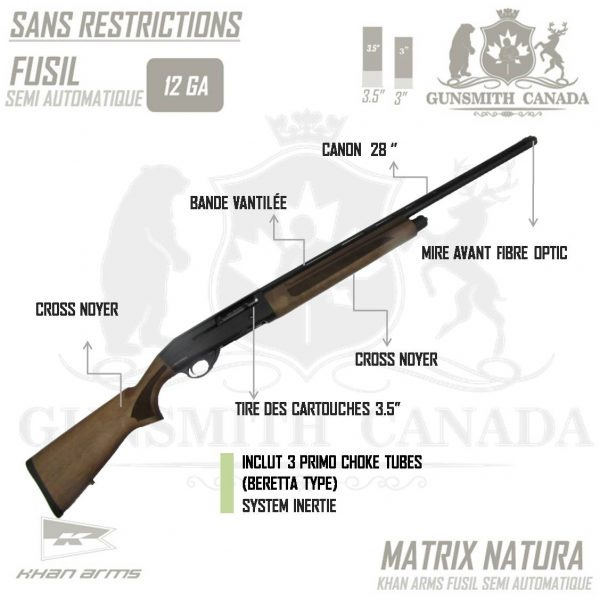 KHANARMS-MATRIX-NATURA-12GA-FR